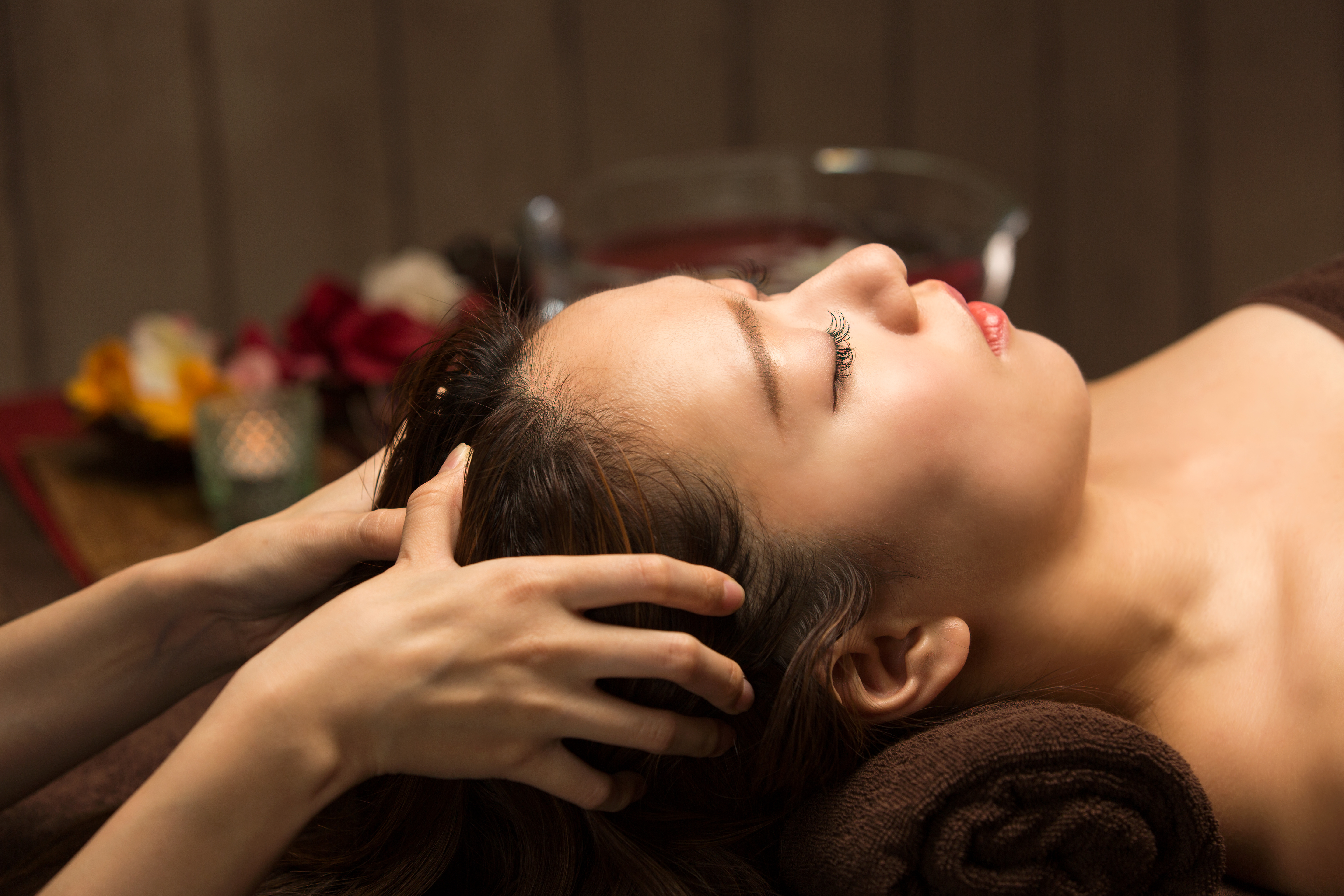 Indian Head Massage at Therapy Station